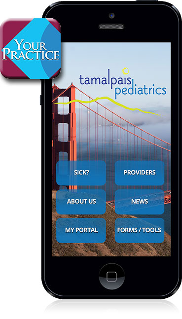Tamalpais Pediatrics Mobile App